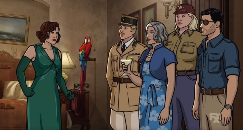Archer 9x01 Review